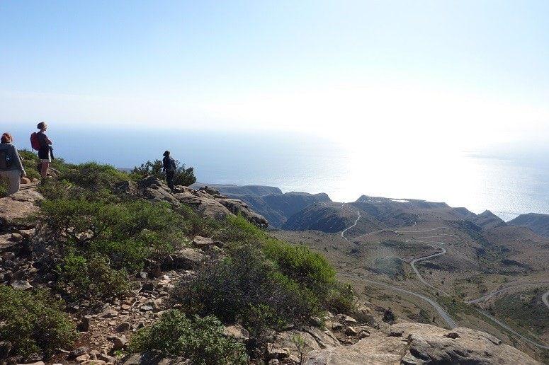 Wandern auf La Gomera, Panorama