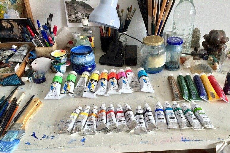 Atelier, La Gomera, Malen, Kurs