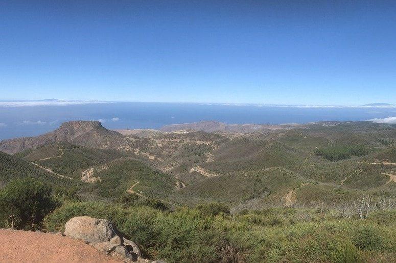 Inselrundfahrt La Gomera, Landschaft