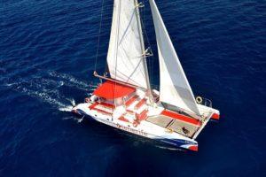 Katamaran, Ausflug, Boot, Whale Watching Teneriffa