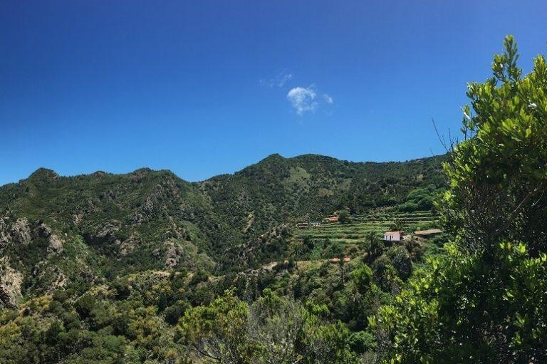 Landschaft La Gomera, Inselrundfahrt