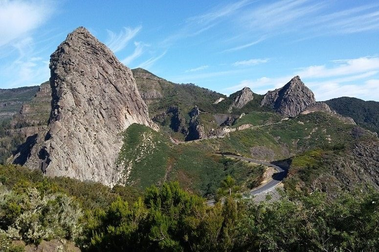 Mirador, Roques, La Gomera