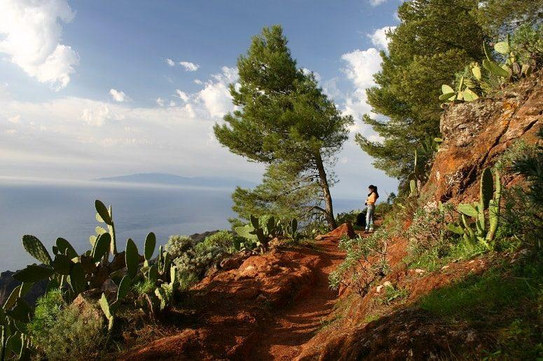 View, Hiking, La Gomera