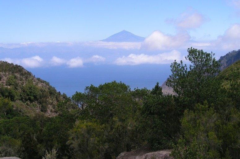 View, hiking La Gomera, Teide