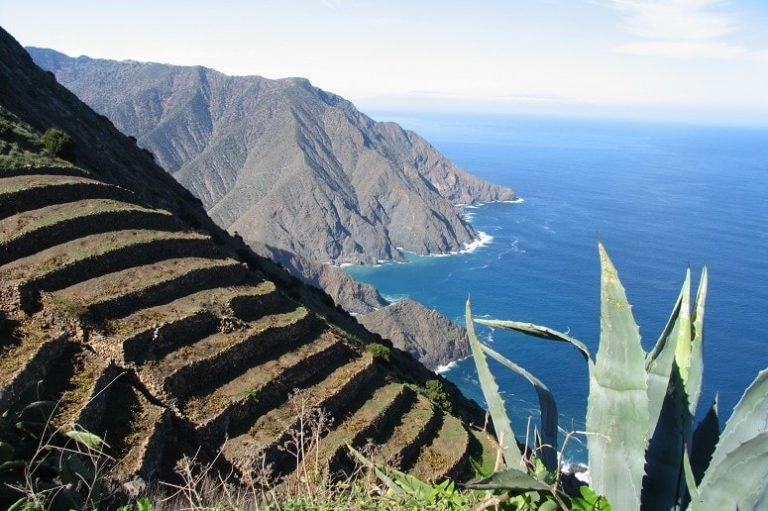 View along the northcoast, La Gomera