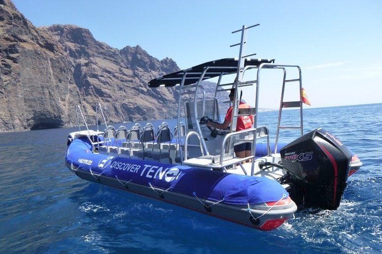 Bootstour auf Teneriffa