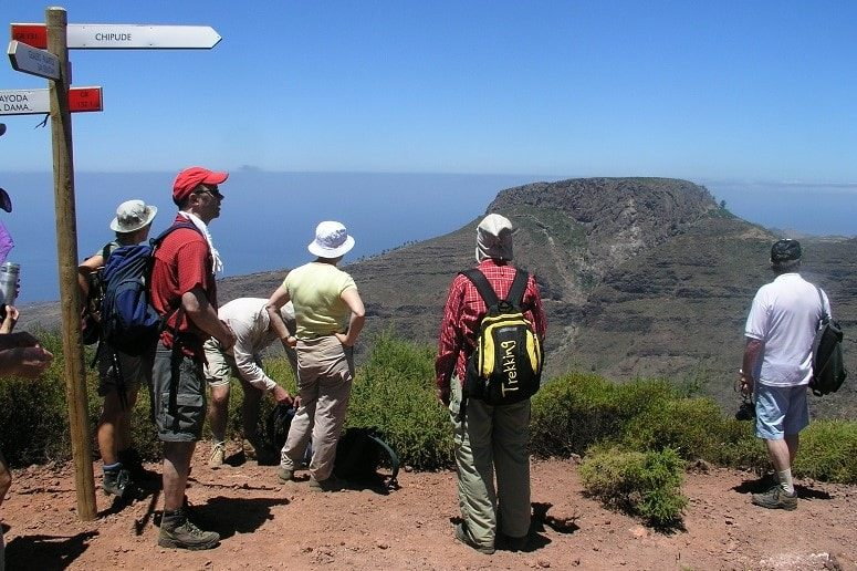 Guided Hike, Hiking Path, La Gomera