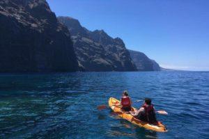 Ruta en Kayac en Tenerife