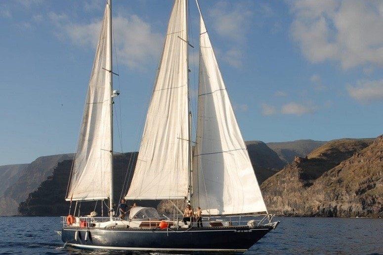 Sailing Boat, La Gomera