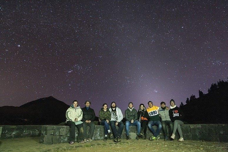 Stars, Tour, Tenerife