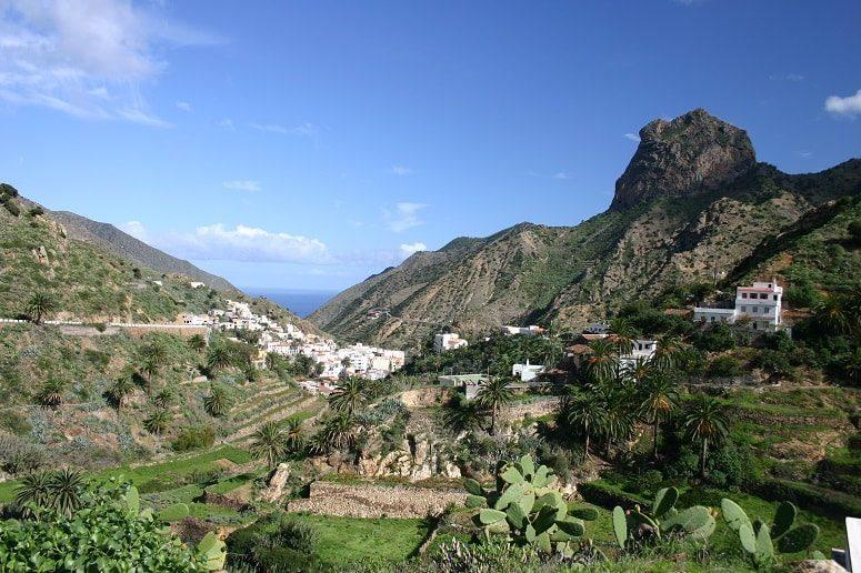 Vallehermoso, La Gomera, caminata guiada