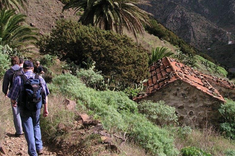 Senderismo en el noroeste, La Gomera