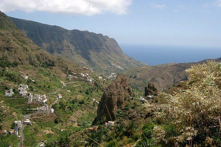 Hike La Gomera, Valley