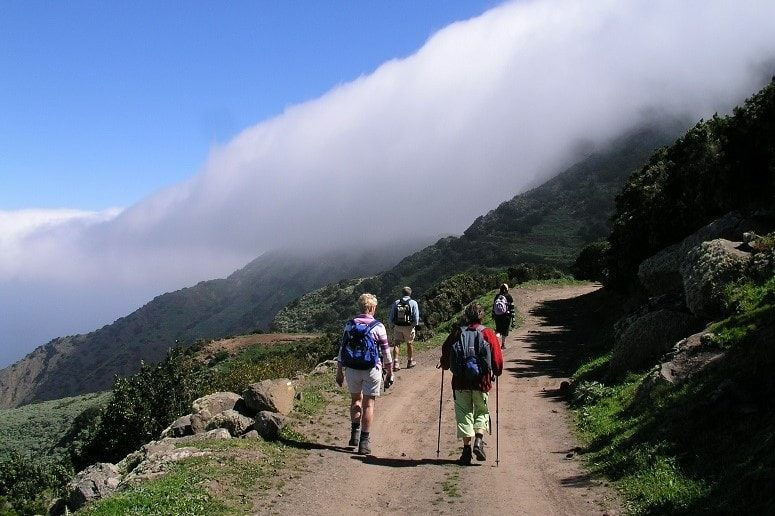 Ruta de senderismo La Gomera, senderismo