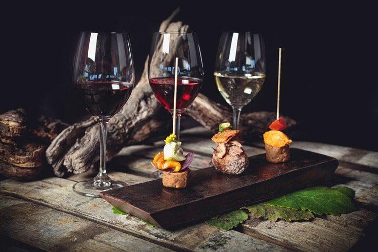 Weinverkostung Teneriffa mit Canapés