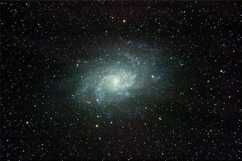 Feuerradgalaxie, Sternentour La Palma