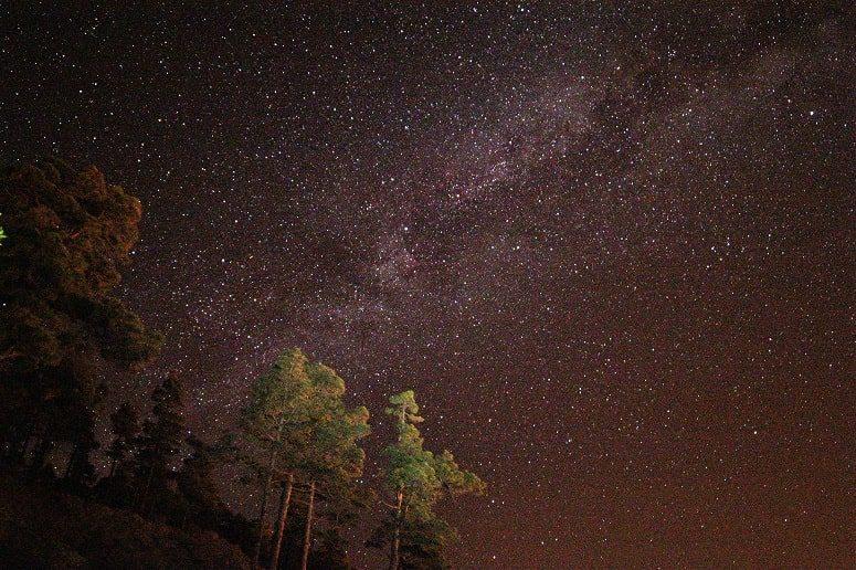 Sternenhimmel, La Palma, Beobachtung